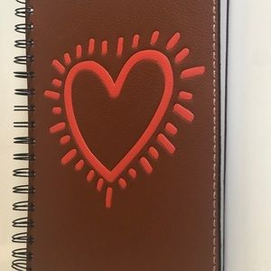 Coach x Keith Haring Heart Sketchbook Journal